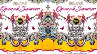 Open all Summer Just Cavalli Milano