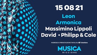 MUSICA RICCIONE w/ LEON • ARMONICA • Massimino Lippoli • David • Philipp & Cole