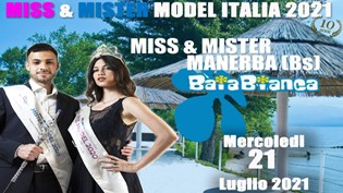 Miss e Mister Model Italia 2021 alla Baia Bianca