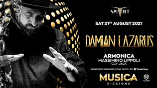 MUSICA RICCIONE Spirit w/ Damian Lazarus & Armonica