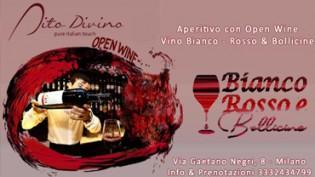 Open Wine Dito Divino a Milano