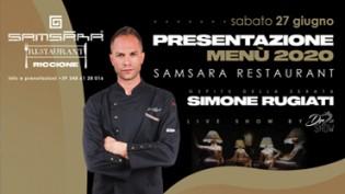 SAMSARA MENÙ 2020 by Simone Rugiati