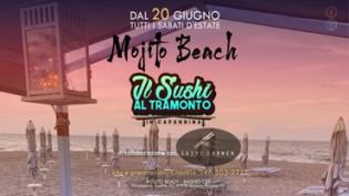 Sushi al tramonto presso Mojito Beach Riccione