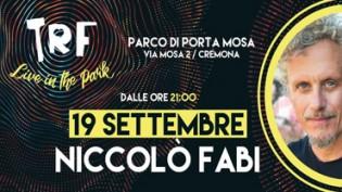 Niccolò Fabi • TRF live in the park
