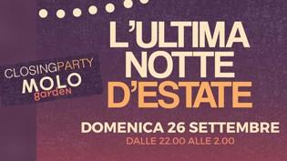 Closing party al Molo di Brescia!