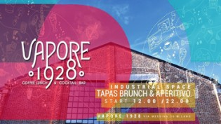 VAPORE 1928 | Brunch & Aperitivo in the Industrial Space