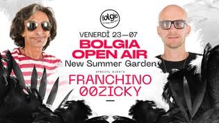 Franchino & 00Zicky at Bolgia Open Air - Nuovo Giardino Estivo