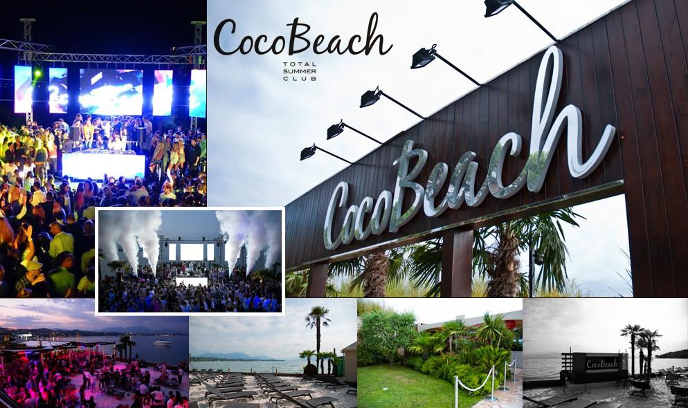 Discoteca CocoBeach a Lido di Lonato, Brescia