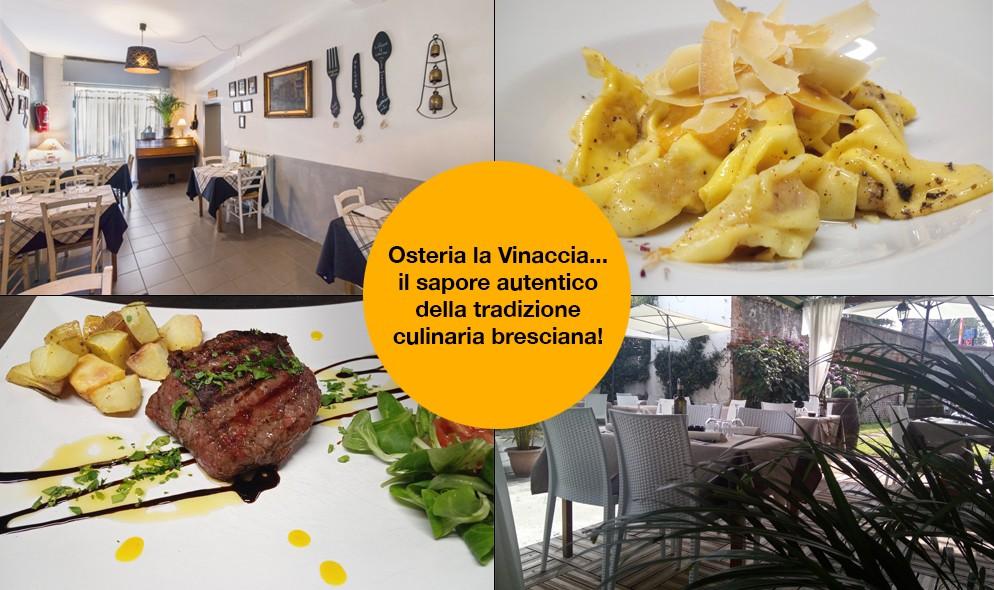 La Vinaccia, Osteria a Brescia