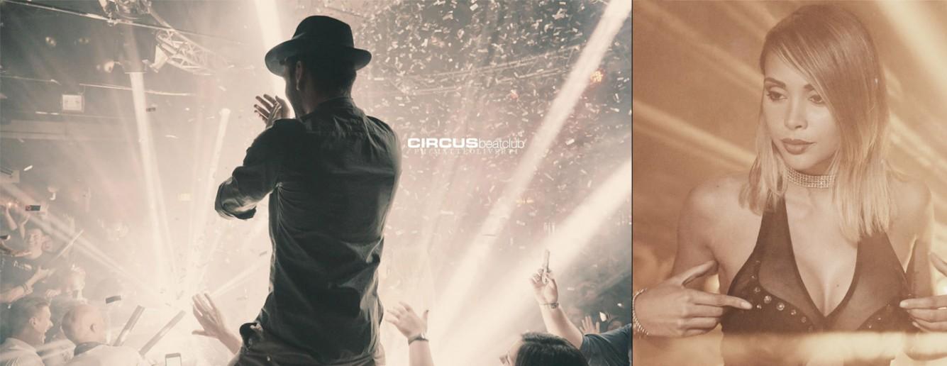 Addio al celibato alla discoteca circus beat club