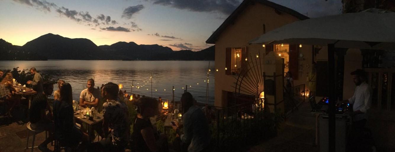 Darsena 21 Sulzano, locale per aperitivi su lago d'Iseo
