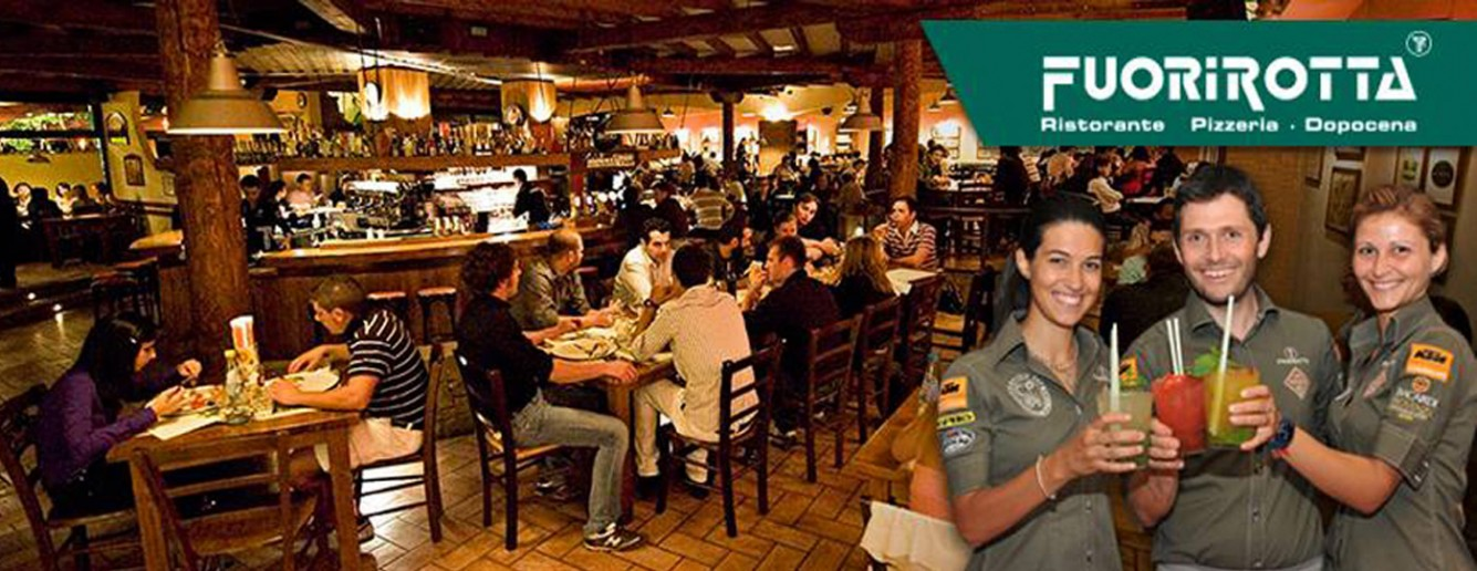 Fuorirotta ristorante a Gorle, Bergamo