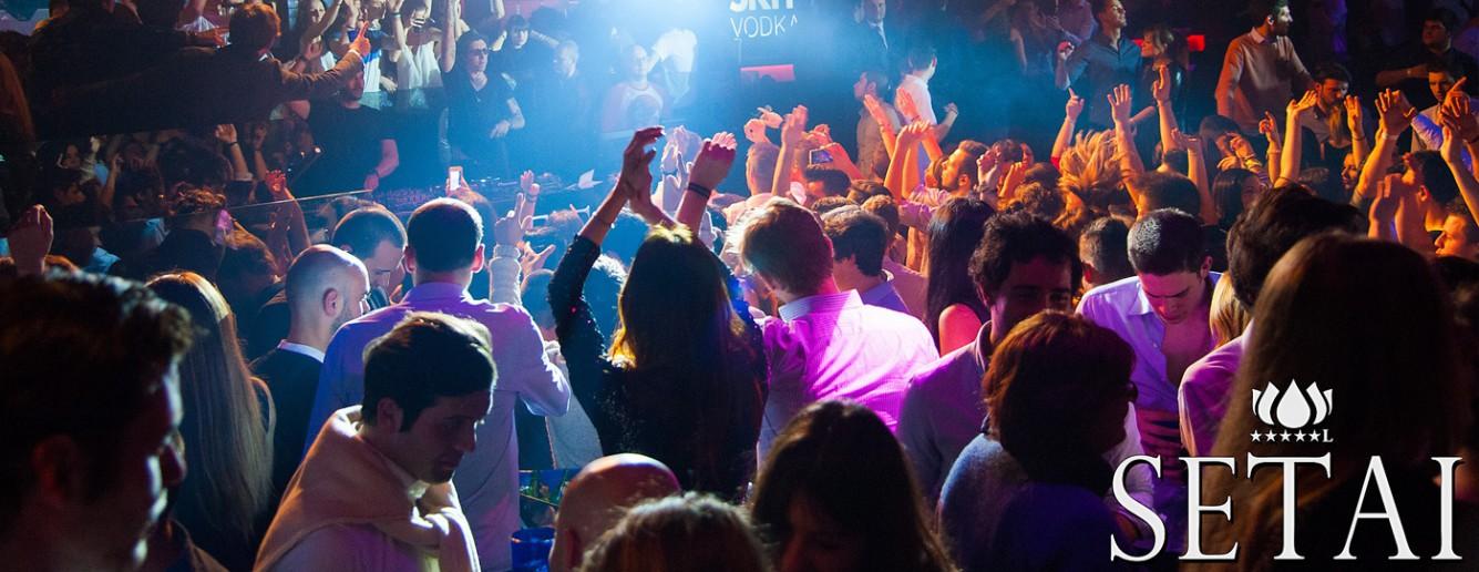 Discoteca Setai a Orio al Serio, Bergamo