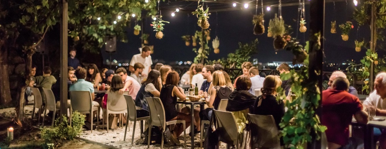 Patio Roof Garden cocktail bar a Brescia