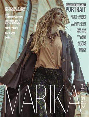 MARIKA MAGAZINE PORTRAIT (ISSUE 848 - APRIL)