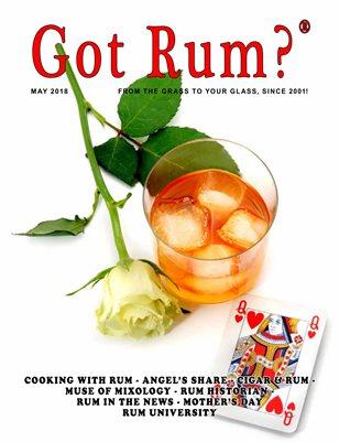 """""""Got Rum?"""" May 2018"""