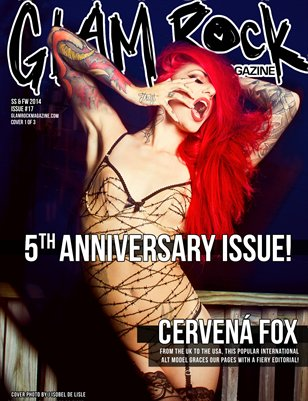 5th Anniversary Issue 17 with Cervena Fox Cover 1 of 3