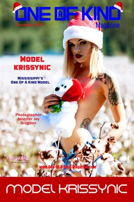 ONE OF A KIND MAGAZINE COVER POSTER - Cover Model Krissynic - December 2018