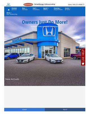 Certified Honda in Charlottesville