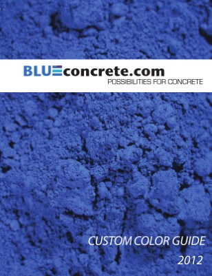 Blueconcrete Color Guide 2012