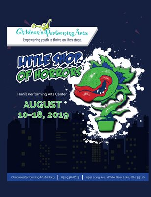 2019 Children's Performing Arts - Little Shop of Horrors