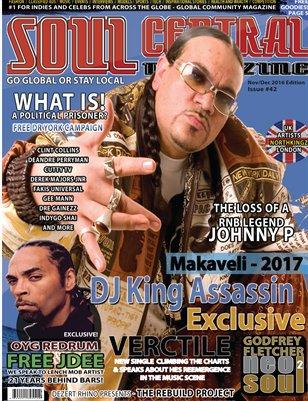 Soul Central Magazine Nov/Dec Edition 2016