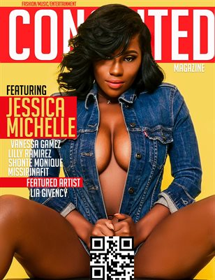 Conceited Magazine featuring Jessica Michelle