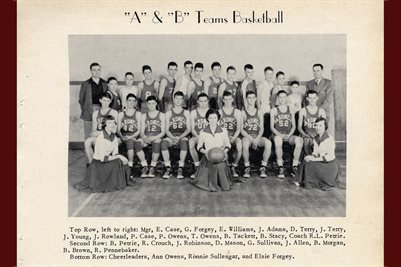 "1951 ""A & B"" BASKETBALL TEAMS, BARDWELL, CARLISLE COUNTY, KENTUCKY"