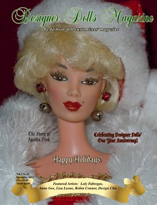 Designer Dolls Magazine - December 2013
