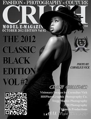CRUSH Model Magazine 2012 Classic Black Edition Vol# 2