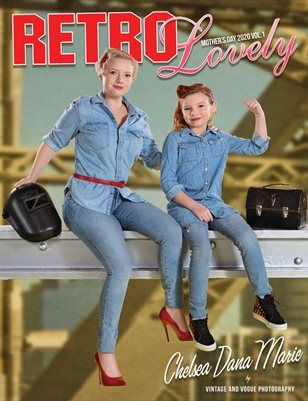 Retro Lovely Mother's Day 2020 Vol.1 Chelsea Dana Marie Cover