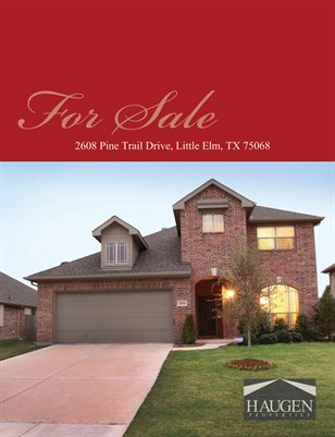 2608 Pine Trail Drive, Little Elm, Texas 75068