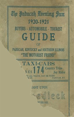1920-21 BUYERS-AUTOMOBILE-TOURIST GUIDE