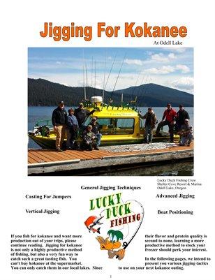 Jigging for Kokanee at Odell Lake