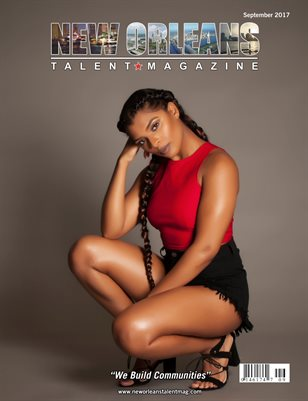 New Orleans Talent Magazine September 2017 Edition