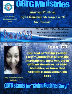 GGTG Ministries' January Newsletter