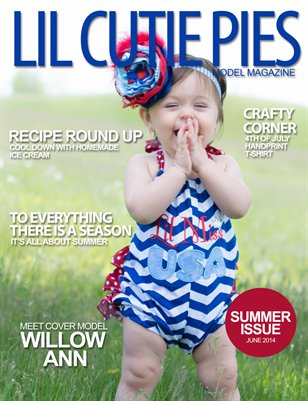 Lil' Cutie Pies Model Magazine Summer 2014 Issue