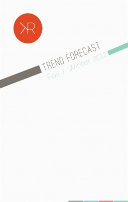 Fall/Winter 2012 Trend Forecast