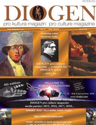 DIOGEN pro culture magazine No 87, June 2018