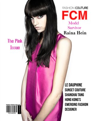 "Fashion Couture Magazine "" Pink Issue"" Vol.2 No.6"