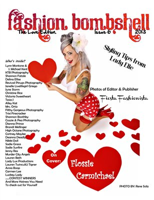 Fashion Bombshell Magazine #6: The Love Edition