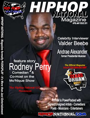 "April/May Issue - Rodney Perry ""More Than Just A Comedian"""