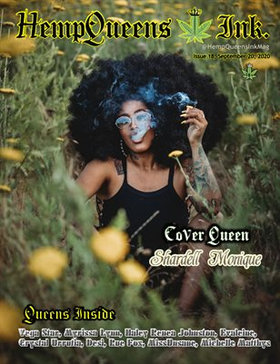 HempQueens Ink. Magazine ~ Issue 18 ~ Shardell Monique