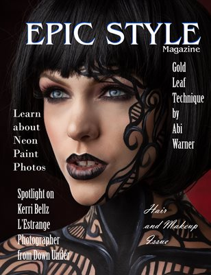 Epic Style Magazine Hair and Makeup Issue