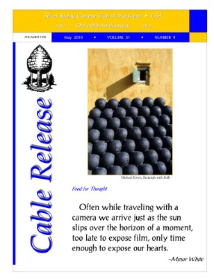 May 2010 Cable Release, Vol. 51, No. 9