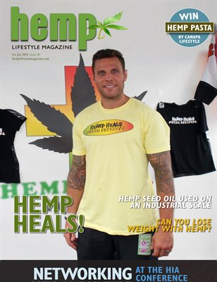 Hemp Lifestyle Magazine Issue 13 Print Copy