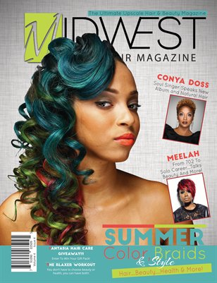 June/July 2015- Midwest Black Hair Magazine