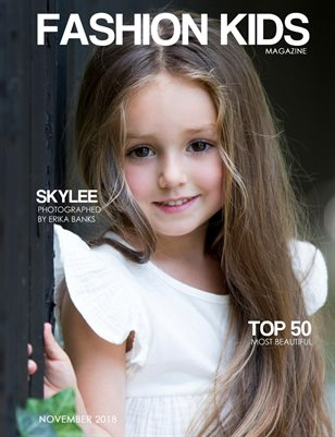 Fashion Kids Magazine | NOVEMBER 2018 TOP 50 MOST BEAUTIFUL