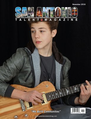 San Antonio Talent Magazine November 2016 Edition