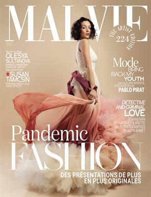 MALVIE Magazine The Artist Edition Vol 224 May 2021